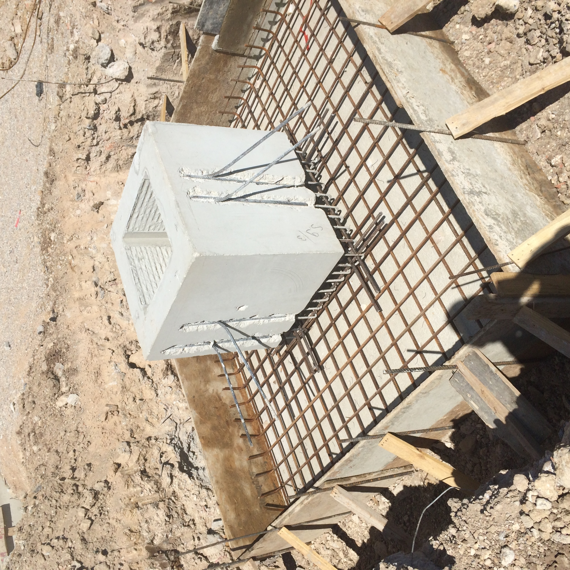 Prefabricated foundation sockets stairs and shear walls for Prefab foundation walls